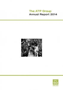 The ATP Group. Annual Report 2014