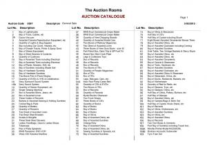 The Auction Rooms AUCTION CATALOGUE