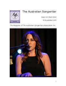 The Australian Songwriter