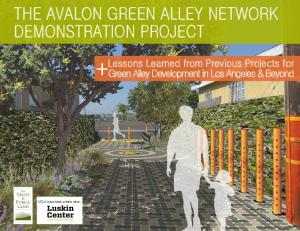 the avalon green alley network Demonstration project