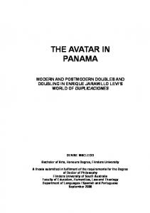 THE AVATAR IN PANAMA