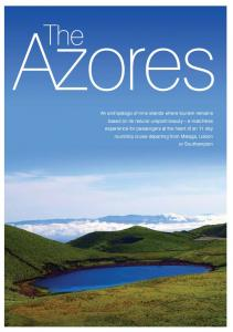 The Azores. Executive Summary