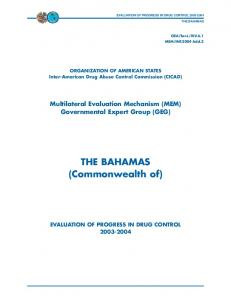 THE BAHAMAS. (Commonwealth of)