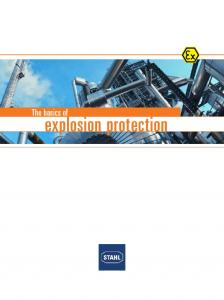 The basics of. explosion protection. R. STAHL explosion protection