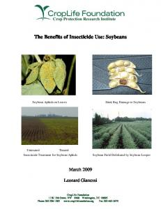 The Benefits of Insecticide Use: Soybeans