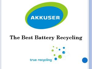 The Best Battery Recycling