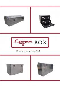 The best box for pick-up, truck and trailer