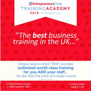 The best business training in the UK