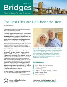 The Best Gifts Are Not Under the Tree. In This Issue