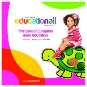The best of European early education