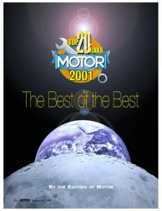 The Best of the Best BY THE EDITORS OF MOTOR