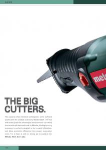 THE BIG CUTTERS. SAWS