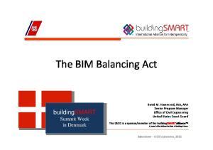 The BIM Balancing Act