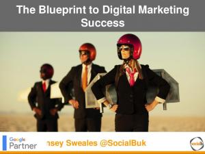 The Blueprint to Digital Marketing Success. Lynsey