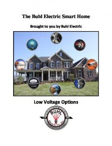 The Buhl Electric Smart Home