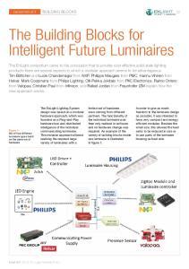 The Building Blocks for Intelligent Future Luminaires