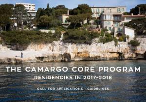 THE CAMARGO CORE PROGRAM