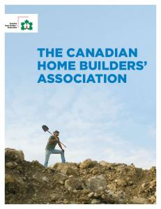 The Canadian Home Builders