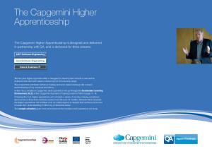 The Capgemini Higher Apprenticeship