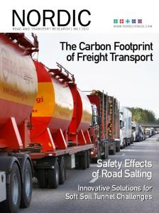 The Carbon Footprint of Freight Transport