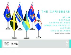 THE CARIBBEAN ARUBA BAHAMAS CAYMAN ISLANDS DOMINICAN REPUBLIC JAMAICA VIRGIN ISLANDS. Merchant Acceptance Highlights