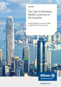 The Case for Emerging Market Currencies in the Long Run