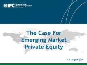 The Case For Emerging Market Private Equity