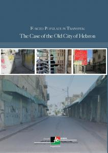 The Case of Old City of Hebron