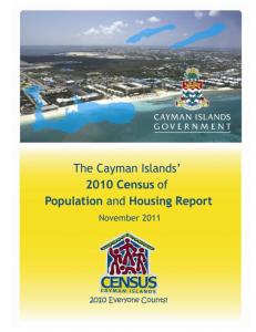 The Cayman Islands 2010 Census Report