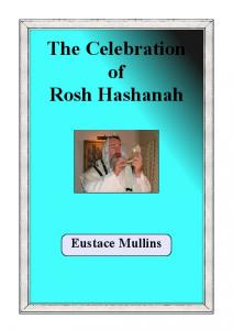 The Celebration of Rosh Hashanah