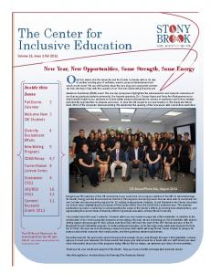 The Center for Inclusive Education