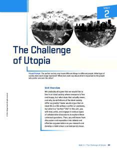 The Challenge of Utopia