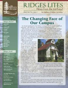 The Changing Face of Our Campus