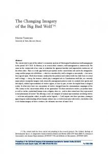 The Changing Imagery of the Big Bad Wolf [ *]