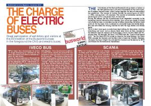 THE CHARGE OF ELECTRIC BUSES