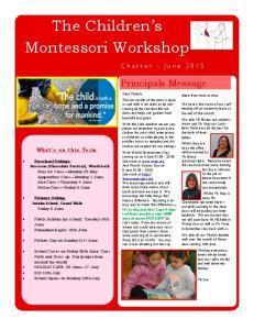 The Children s Montessori Workshop