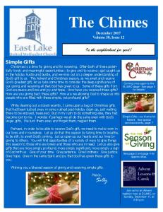 The Chimes. In the neighborhood for good!