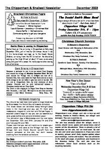 The Chippenham & Snailwell Newsletter December 2003