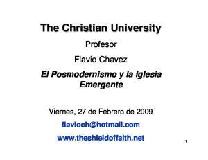 The Christian University
