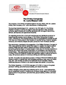 The Christy Companies St. Louis Missouri USA