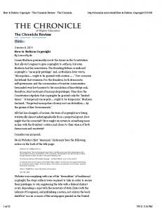 The Chronicle Review Home Opinion & Ideas The Chronicle Review