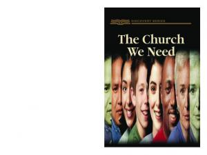 The church we need is one