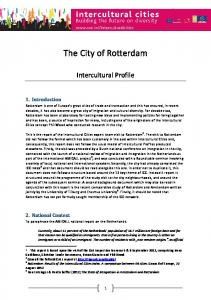 The City of Rotterdam