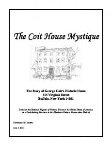 The Coit House Mystique