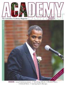 The Columbus Academy Magazine