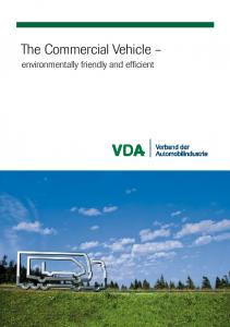 The Commercial Vehicle. environmentally friendly and efficient