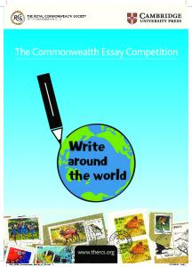 The Commonwealth Essay Competition