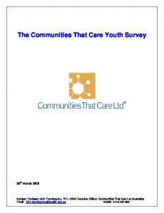 The Communities That Care Youth Survey