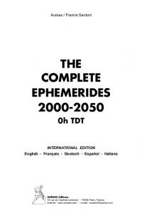 THE COMPLETE EPHEMERIDES