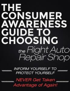 THE CONSUMER AWARENESS GUIDE TO CHOOSING